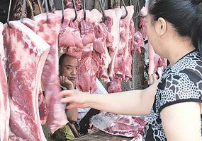 跨年「豬荒」高通脹 中共放水救市難