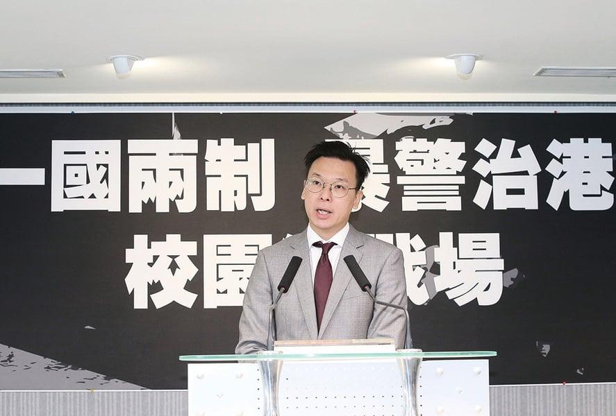 林飛帆:香港淪為警察城市始作俑者是中共