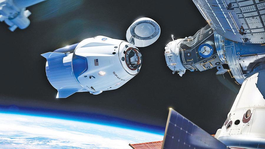 SpaceX飛龍號降落傘測試順利 明年初或將載人升空