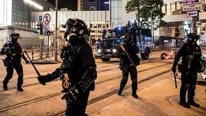 作為一個老師,目睹防暴警察攻入大學校園