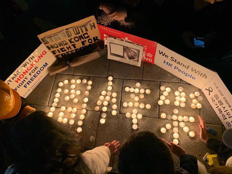 9月11日,67個公民社會團體發表聯署聲明,聲援香港逆權運動。(Participation)