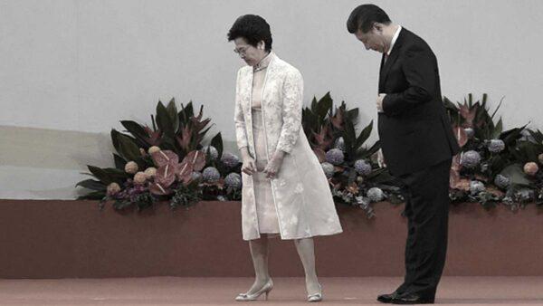 林鄭4日赴上海向習近平匯報工作,習對林鄭面授當前「最重要的任務」。( AFP via Getty Images)