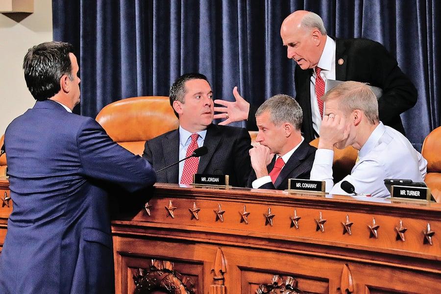 共和黨指彈劾是「抹黑鬧劇」