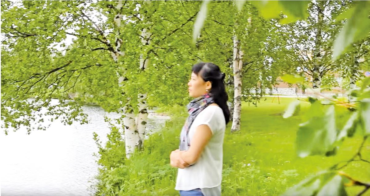 金昭宇在芬蘭(新唐人)
