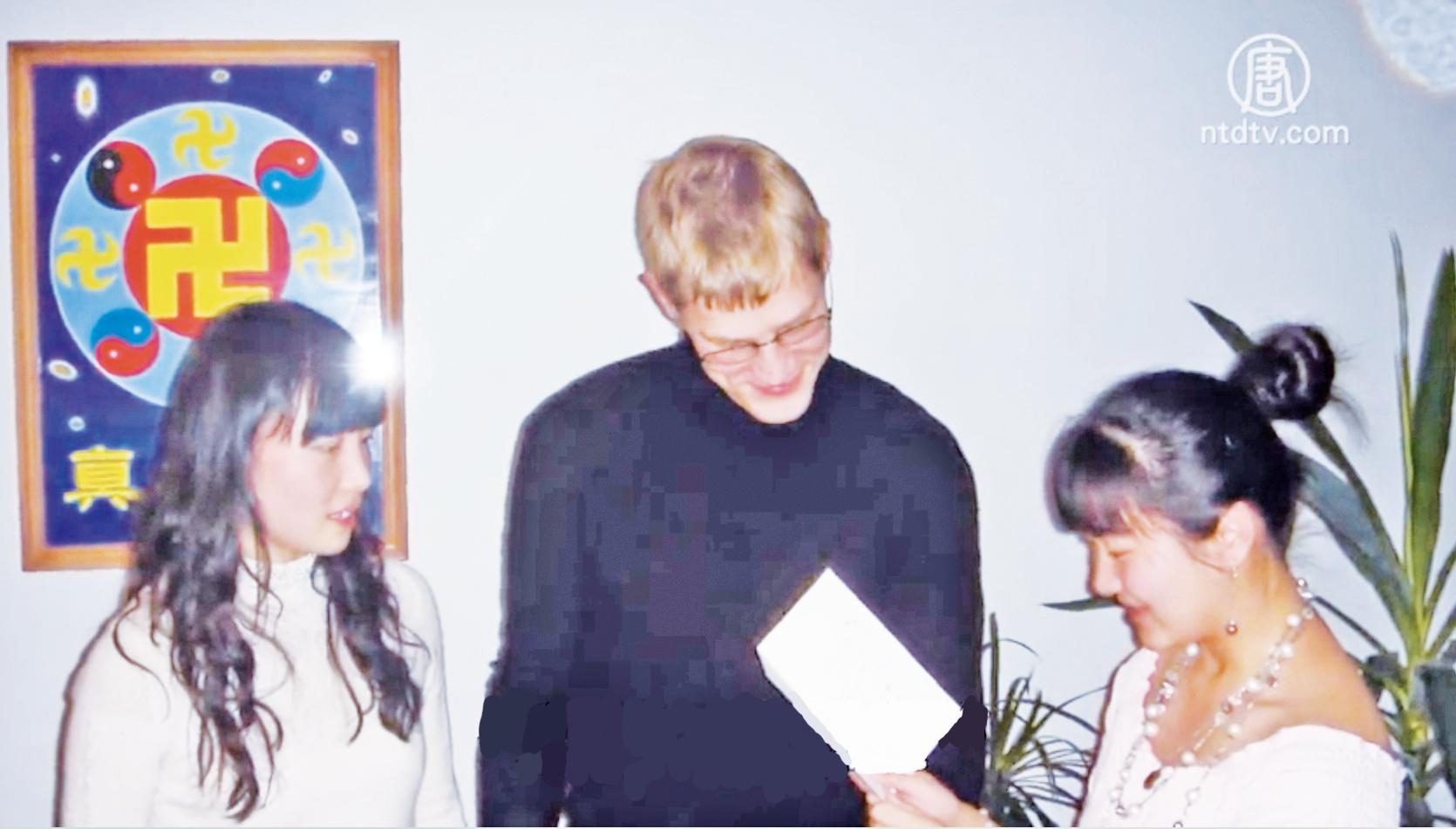 金昭宇和Tommy結婚小型慶祝會(新唐人)
