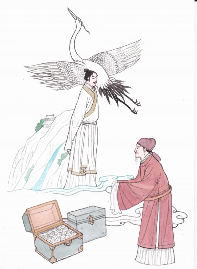 孫思邈主張養性必須看淡名利,修養道德。(圖/素素)