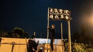 中共軍人「倒戈」 前駐港軍官和武警聲援香港