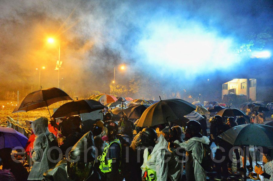 民權觀察批警方使用實彈 將釀人道危機
