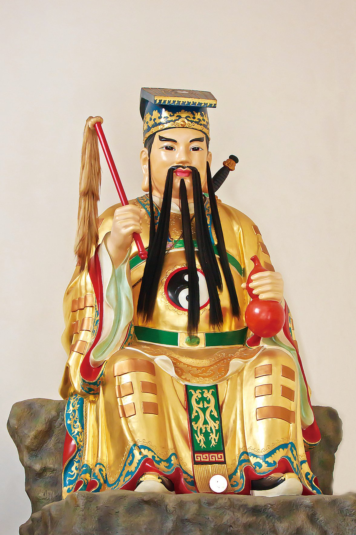 呂洞賓神像(王嘉益/大紀元)