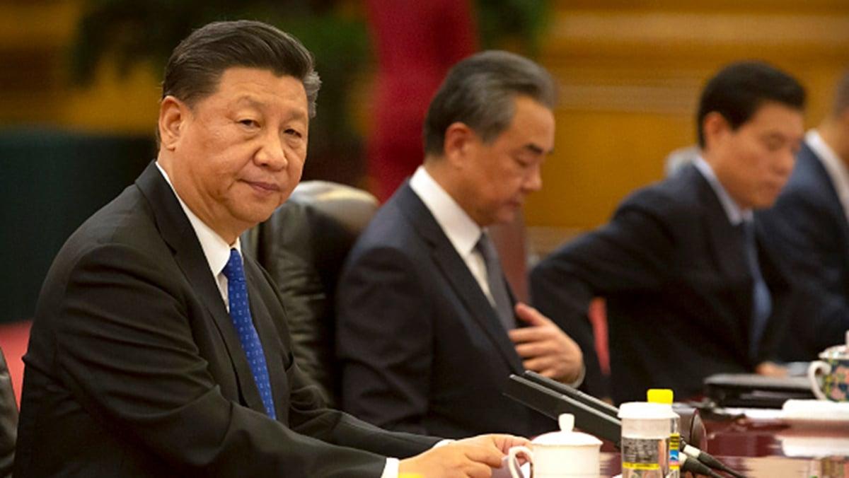 中美經濟與安全審查委員會建議,美國不要再稱呼習近平為「國家主席」,因為習不是民選的,這個頭銜名不正言不順。(Mark Schiefelbein-Pool/Getty Images)