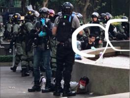 警察攻理大校園變戰場 學生沒退路被捕遭暴打