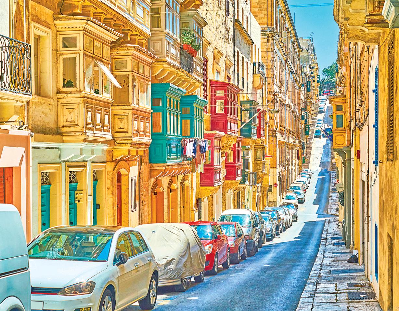 觀賞景致的著名老街。