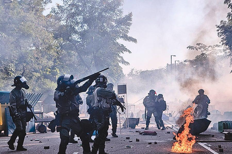 中共抹黑香港抗議者 手法大曝光