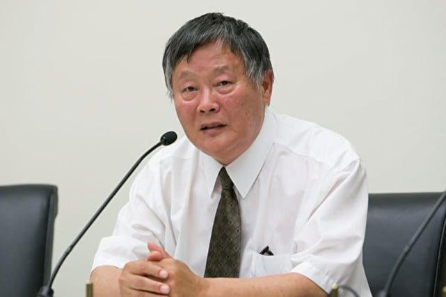 圖為中國著名異見人士、中國民主運動海外聯席會議主席魏京生。(李莎/大紀元)