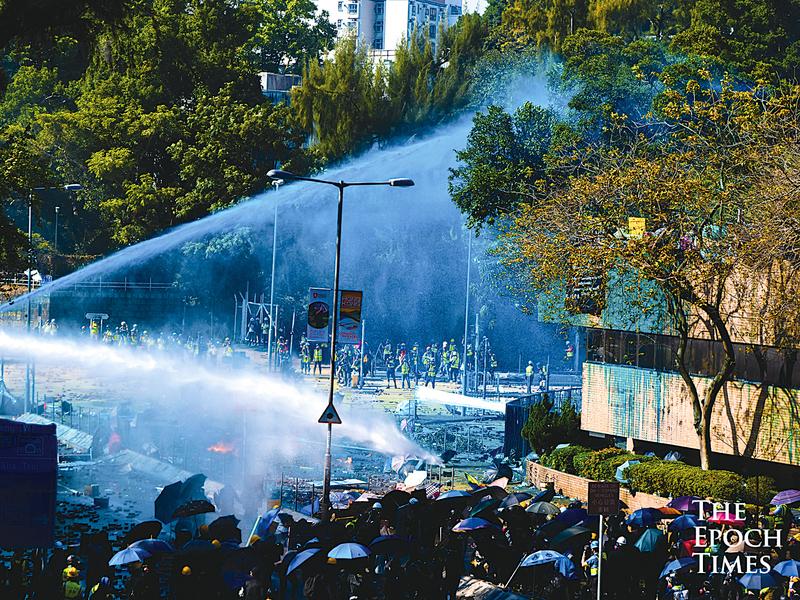 美議員:中共在香港的行為 暴露稱霸野心