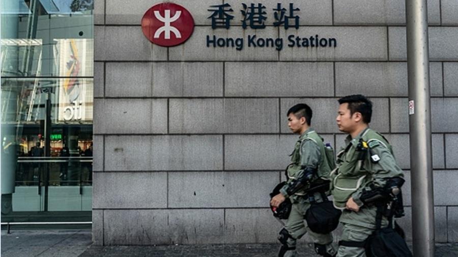 香港局勢詭異 中港間20班列車停駛