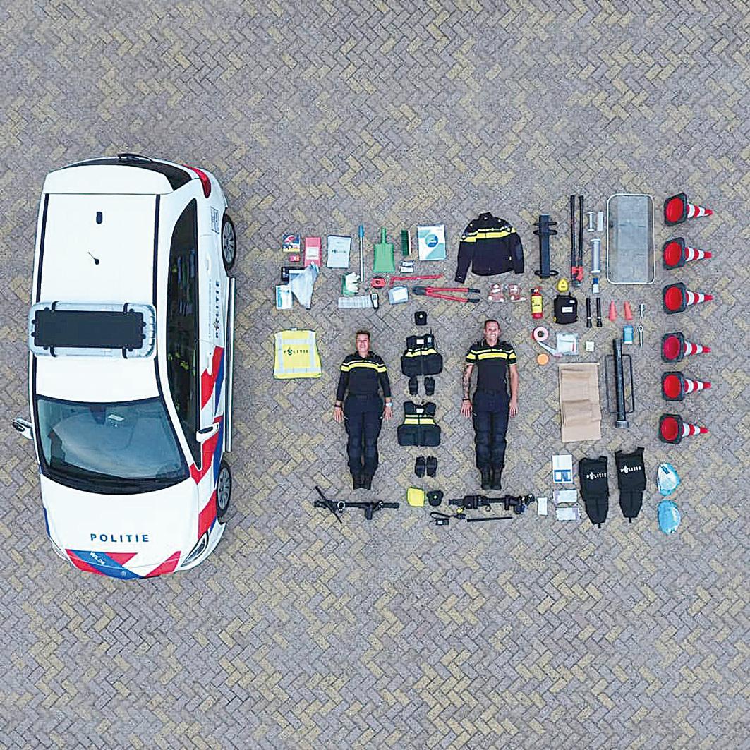 荷蘭警車是始作俑者,由此樂高開箱席捲全球,引起一波開箱熱潮。(twitter /Copvids911)
