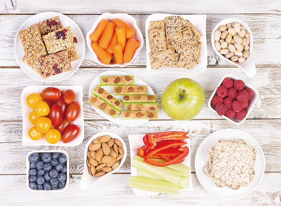 上班時間吃對食物,可以補充能量,提高工作效率。(Nana Facebook)