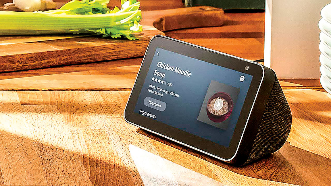亞馬遜最新的Echo Show 5智能顯示器。(Amazon)