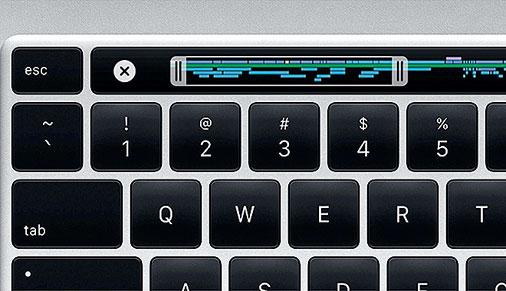16英寸MacBook Pro捨棄了蝶式鍵盤,改回傳統剪刀腳結構鍵盤,並恢復了實體的Esc鍵。(Apple提供 )
