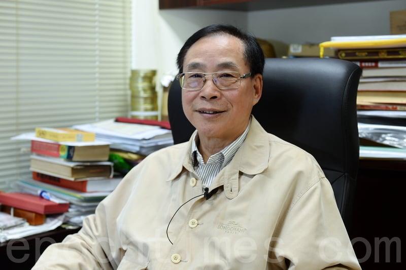 鄉議局同鄉議局研究中心主任薛浩然。(宋碧龍/大紀元)