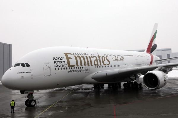 阿聯酋航空公司今年榮獲全球最佳航空殊榮。(Krafft Angerer/Getty Images)