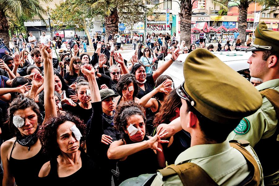 智利警方停用含金屬鳥彈