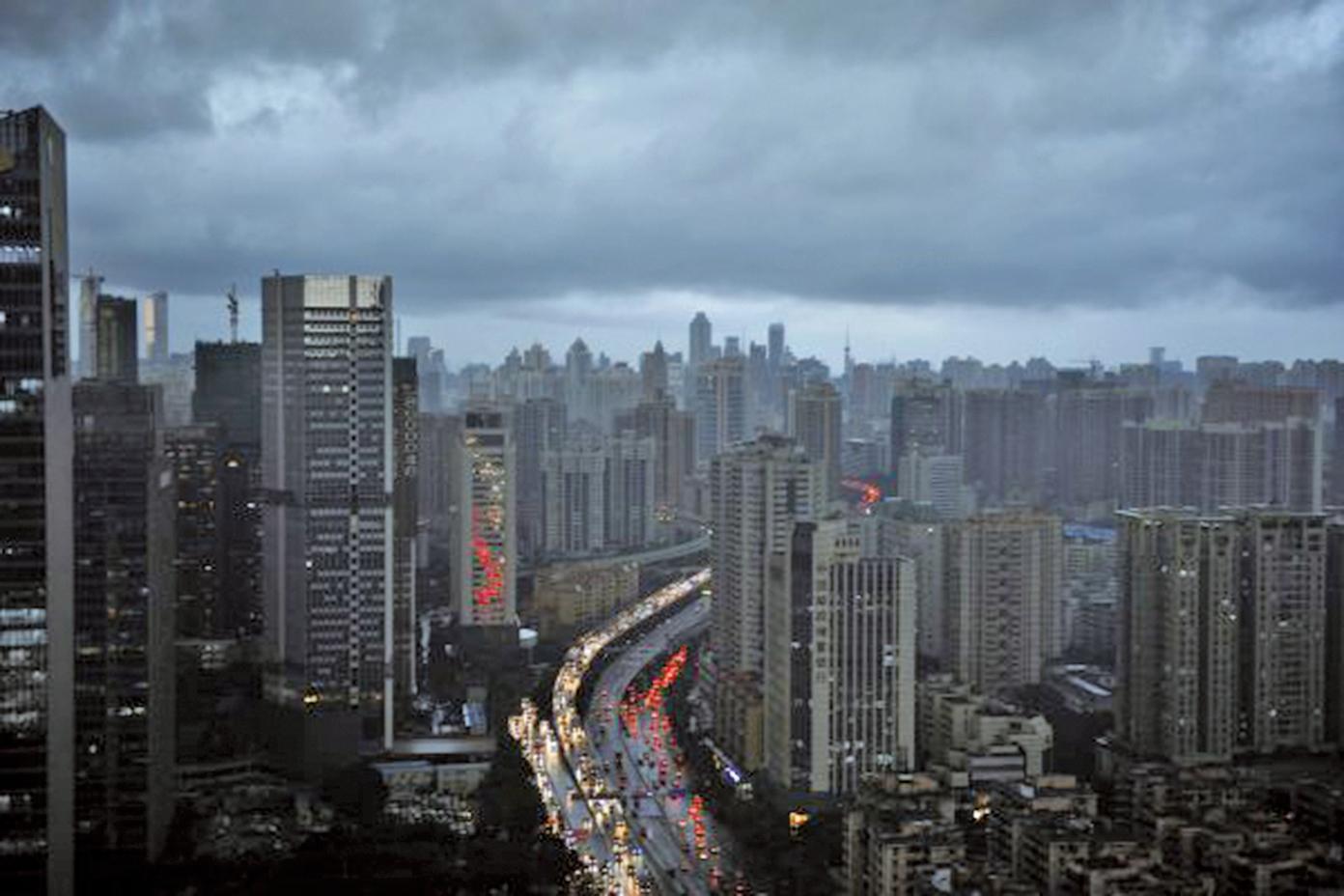 數據顯示,今年大陸房地產將受到擠壓。(Getty Images)