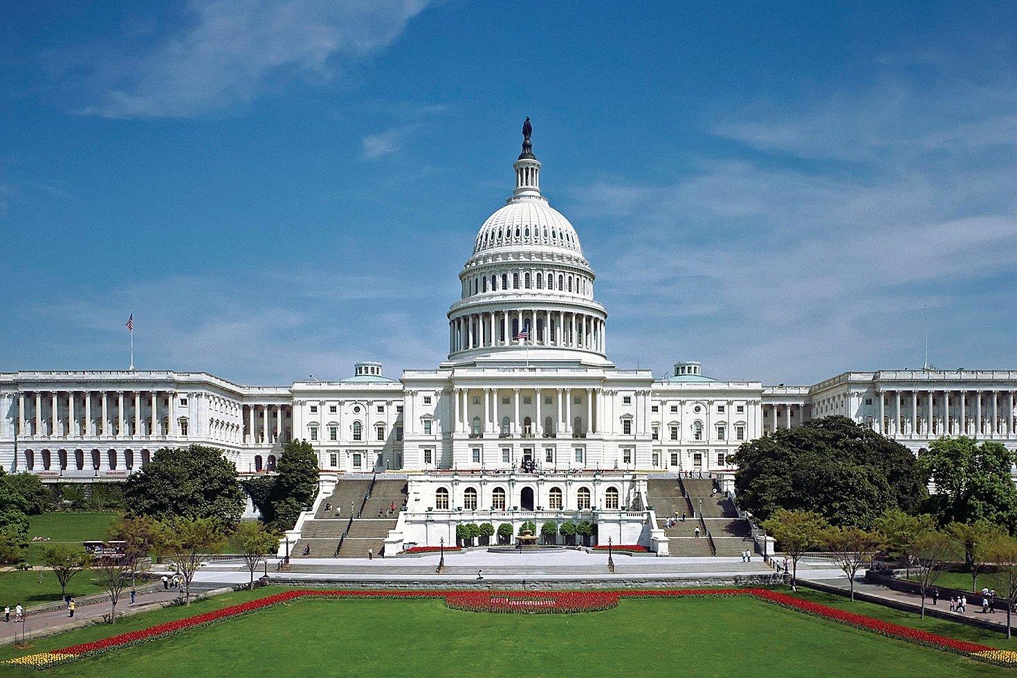 圖為美國國會大廈。(大紀元圖庫)