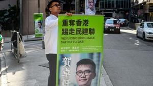 韓正定調香港區選如期舉行 港人聲明當天不上街