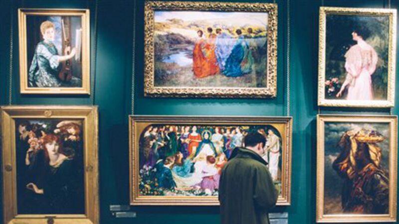 鄭塗將名下的342幅藝術品借給中國商人馬躍,近250幅憑空消失。示意圖(翻攝自Unsplash)