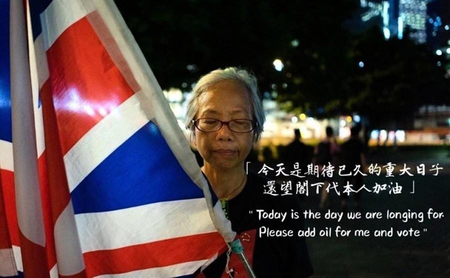 反送中遊行舞英國旗後失蹤 王婆婆證實被關押深圳