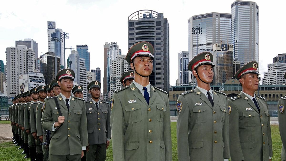 中共網軍一片「哀鴻遍野」,不能接受建制派「崩盤」敗走。示意圖(PHILIPPE LOPEZ/AFP/Getty Images)