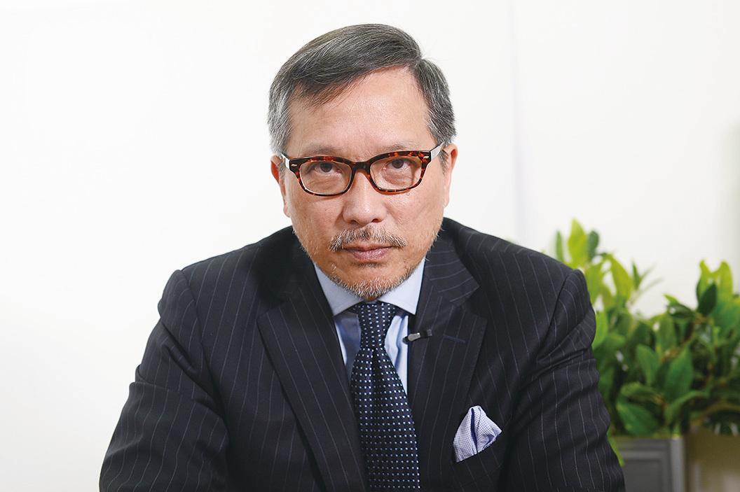 香港作家、時事評論員潘東凱。(宋碧龍/大紀元)