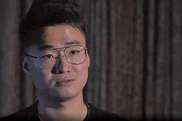 鄭文傑自述被中共刑囚經過(影片截圖)