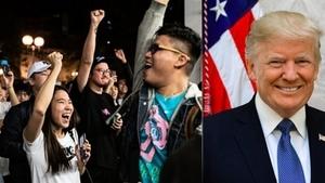 港人今夜狂歡:特朗普簽香港法案 感恩節最好禮物