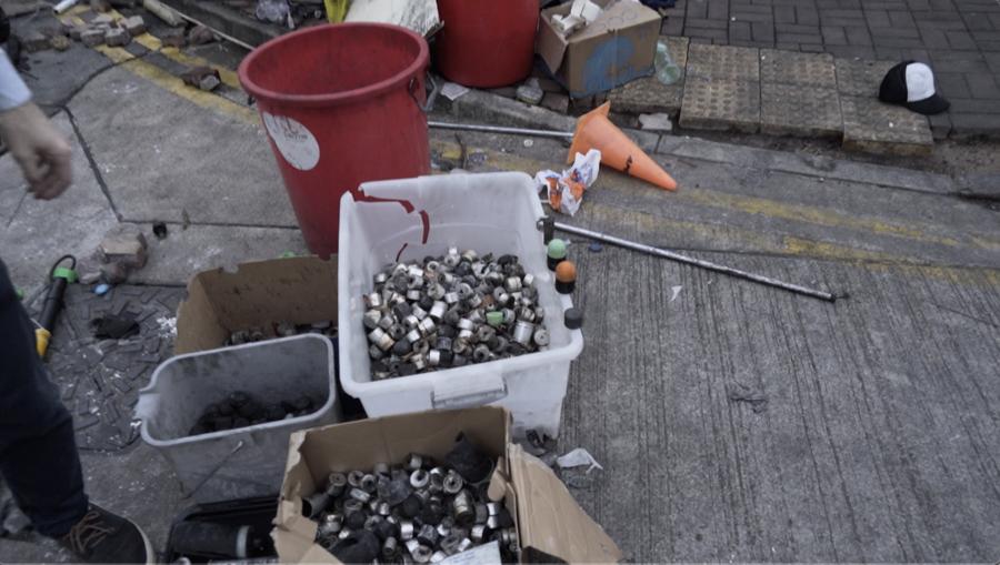 民間公佈催淚毒氣報告  中共製劣質催淚彈