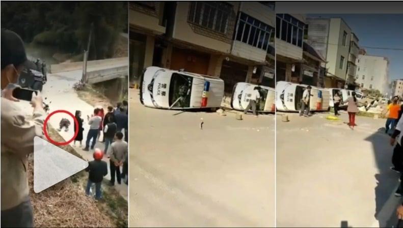 廣東茂名村民抗爭4日   黨委書記宣佈永不建火葬場