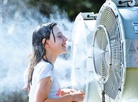 省錢又環保妙用風扇 不開空調也涼快