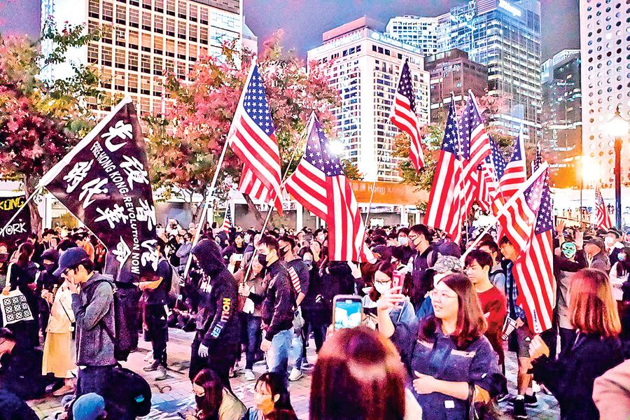 特朗普簽署香港法案  觸動中共兩大痛點