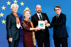 歐盟首位女主席上任 誓言讓歐盟更強大