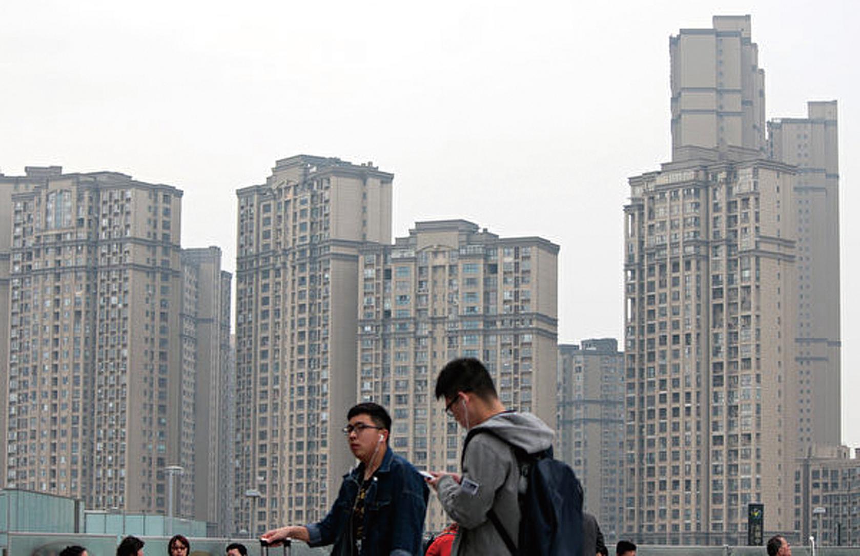 中國10月份房價下跌城市數量創出55個月新高。最新報告預測2020年北京天津等10城房價可能下跌。( 大紀元資料室)