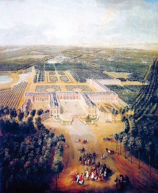 1742 年大特里亞農宮。(維基百科)