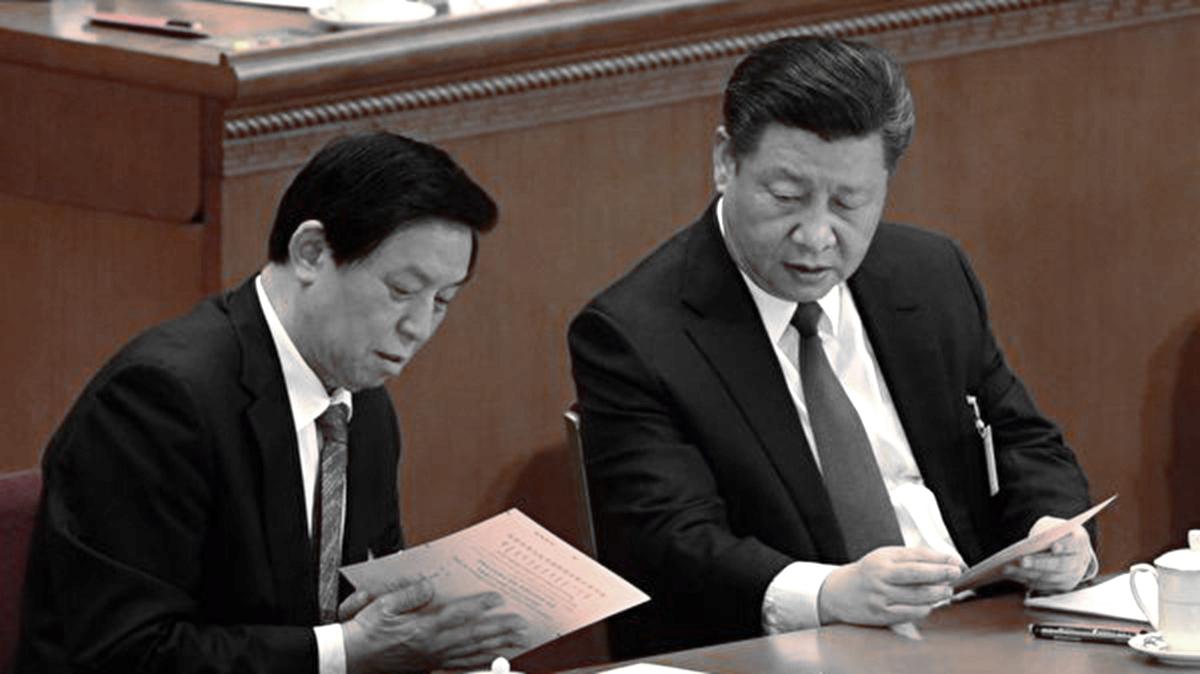 中共人大委員長栗戰書3日出席座談會時,要求香港要很好領會習中央的工作精神。示意圖(FRED DUFOUR/AFP/Getty Images)