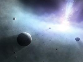 研究:大量行星可能存在於黑洞四周