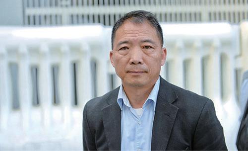 胡志偉寄望香港人緊守香港這片土地,珍惜其核心價值。(宋碧龍/大紀元)