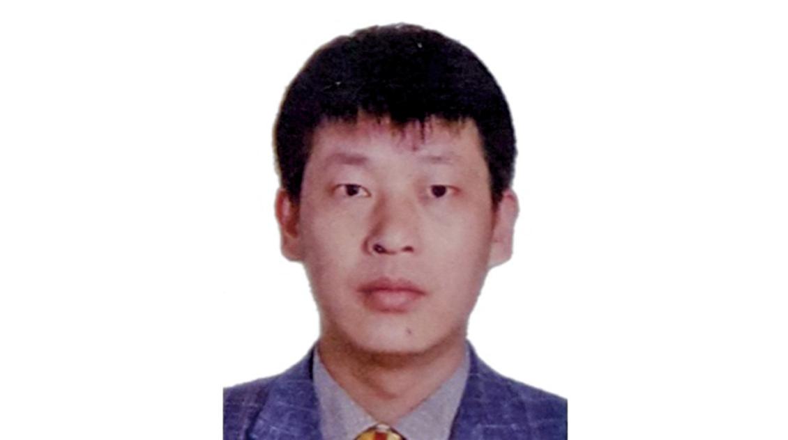 法輪功學員鄧成聯遭冤判4年,在獄中絕食抗議。(明慧網)