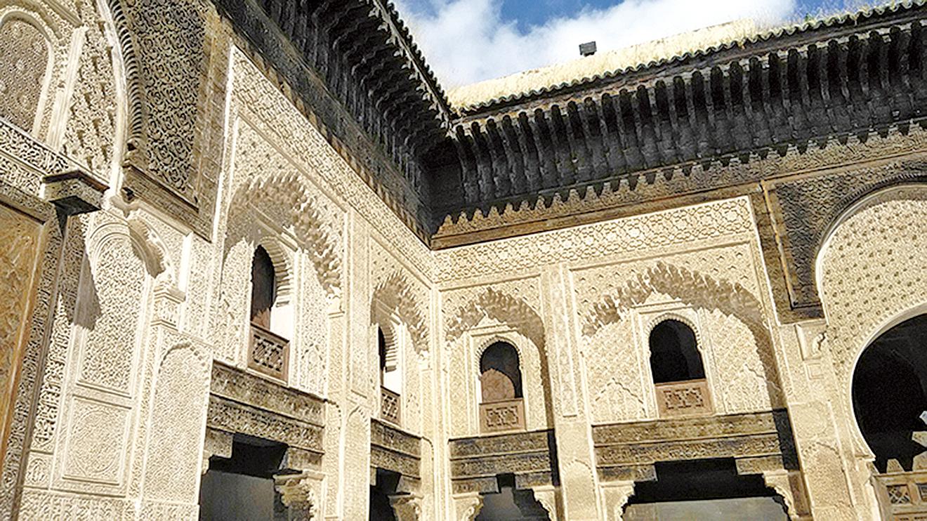 四大皇城之一的菲斯古城(Fes)是摩洛哥四大古城中最古老一座,建於西元808年,被認為是西元12世紀伊斯蘭教全盛時期最大的城市。