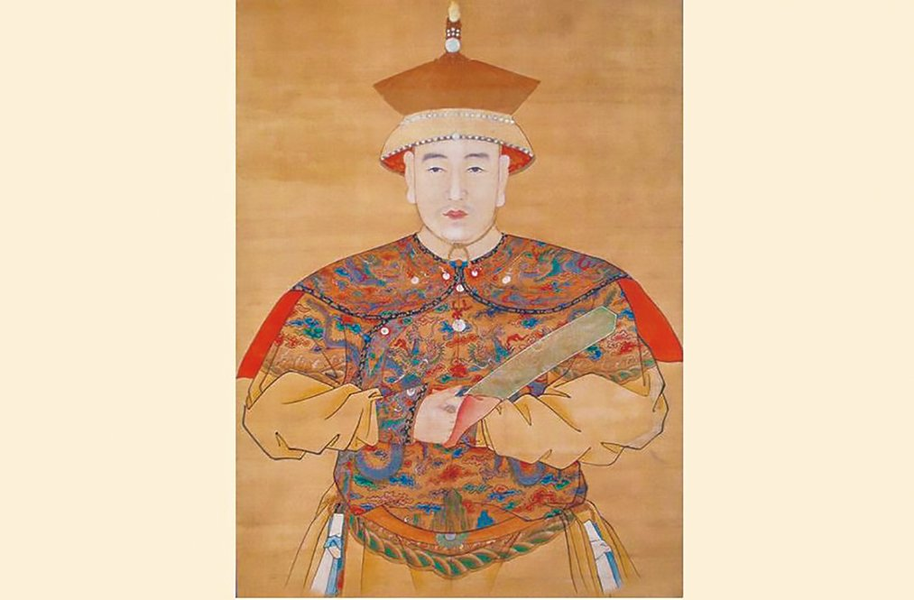 清宮廷畫師繪順治帝像。(公有領域)