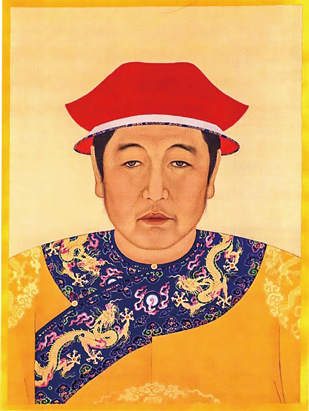 清世祖成年肖像。(公有領域)